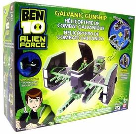 Ben 10 Playset Deluxe Vehicle Galvanic Gunship [Exclusive 'Ship' Character!]