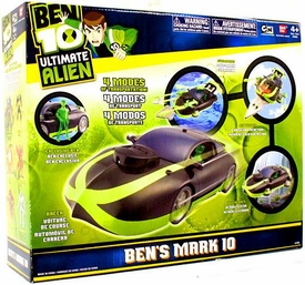 Ben 10 Deluxe Vehicle Mark 10 [Includes Exclusive Translucent Ben Action Figure!]