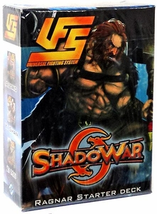 Universal Fighting System (UFS) Card Game Shadowar Ragnar 60 Card Starter Deck