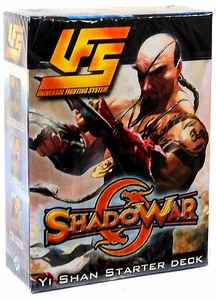 Universal Fighting System (UFS) Card Game Shadowar Yi Shan 60 Card Starter Deck