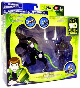 Ben 10 Alien Creatures Action Figure with Vehicle Alien X