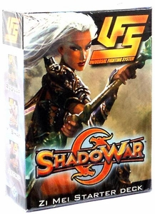 Universal Fighting System (UFS) Card Game Shadowar Zi Mei 60 Card Starter Deck
