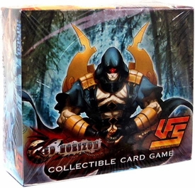 Universal Fighting System (UFS) Card Game Red Horizon Booster BOX [24 Packs]
