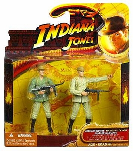 Indiana Jones Movie Deluxe Action Figure 2-Pack German Soldiers