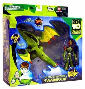 Ben 10 Alien Creatures Action Figure with Vehicle Swampfire