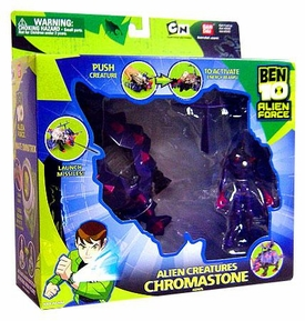Ben 10 Alien Creatures Action Figure with Vehicle Chromastone