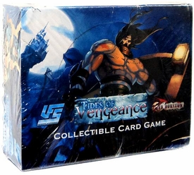 Universal Fighting System (UFS) Card Game Red Horizon Tides of Vengeance Booster BOX [24 Packs]