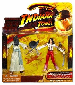 Indiana Jones Movie Deluxe Action Figure Cairo Swordsman & Marion