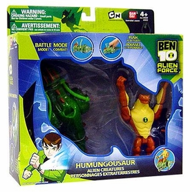 Ben 10 Alien Creatures Action Figure with Vehicle Humungousaur