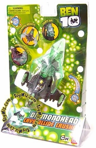 Ben 10 Alien Ship Transforming Vehicle Diamondhead's Crystalline Crusher