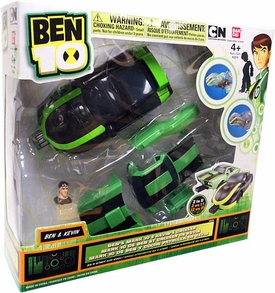 Ben 10 Ultimate Alien Vehicle Ben's Mark 10 & Kevin's Cruiser