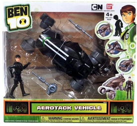 Ben 10 Ultimate Alien Vehicle & Figure Set Aerotack & Kevin E. Levin
