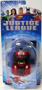DC Direct Justice League Action Figure Superman [Black Suit Variant]