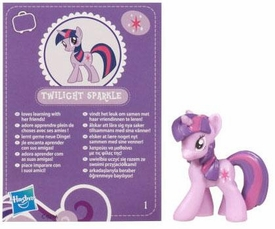 My Little Pony Friendship is Magic 2 Inch PVC Figure Series 2 Twilight Sparkle [Purple Card]
