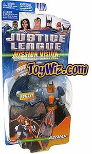 Justice League Action Figure Mission Vision Batman w/Wings