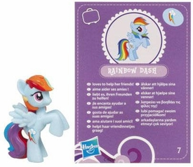 My Little Pony Friendship is Magic 2 Inch PVC Figure Series 2 Rainbow Dash [Purple Card]