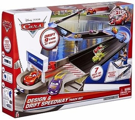 Disney / Pixar CARS Movie Micro Drifters Design & Drift Speedway