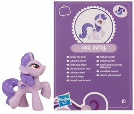 My Little Pony Friendship is Magic 2 Inch PVC Figure Series 2 Sea Swirl [Purple Card]