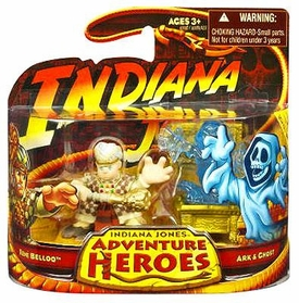Indiana Jones Adventure Heroes Wave 1 Mini Figure 2-Pack Belloq With Ark & Ghost
