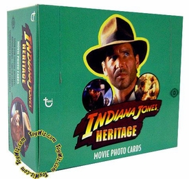 Topps Heritage Indiana Jones Hobby Edition Trading Cards Box [24 Packs]