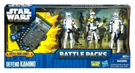 Star Wars 2011 Clone Wars Battle Pack Defend Kamino [ARC Trooper, Echo & Fives]