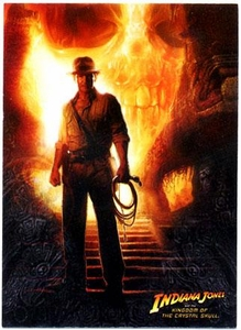 Topps Indiana Jones Movie Kingdom of the Crystal Skull Trading Cards Complete Basic Set [90 Cards]