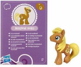 My Little Pony Friendship is Magic 2 Inch PVC Figure Series 2 Meadow Song [Purple Card]
