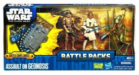 Star Wars 2011 Clone Wars Battle Pack Assault on Geonosis [Obi-Wan Kenobi, Geonosian & Clone Trooper]