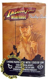 Topps Heritage Indiana Jones Hobby Edition Trading Cards Pack