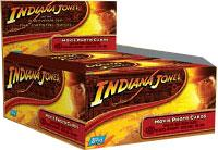 Topps Indiana Jones and the Kingdom of the Crystal Skull Movie Hobby Edition Trading Cards Box (24 Packs) BLOWOUT SALE!