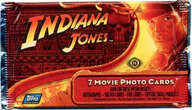 Topps Indiana Jones and the Kingdom of the Crystal Skull Movie Hobby Edition Trading Cards Pack