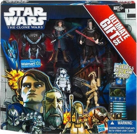 Star Wars 2011 Clone Wars Exclusive Ultimate Gift Set Action Figure 5-Pack [Super Battle Droid, Anakin, Count Dooku, Captain Rex & Battle Droid]