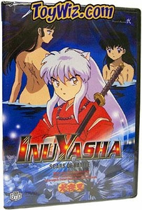 InuYasha DVD Volume 10 Scars of Battle BLOWOUT SALE!