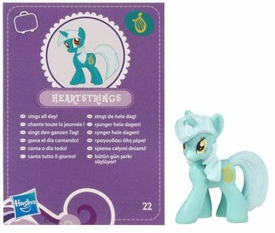 My Little Pony Friendship is Magic 2 Inch PVC Figure Series 2 Lyra Heartstrings [Purple Card] BLOWOUT SALE!
