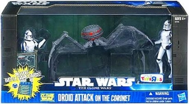 Star Wars 2011 Clone Wars Exclusive Battle Pack Droid Attack on the Coronet