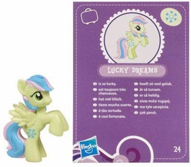 My Little Pony Friendship is Magic 2 Inch PVC Figure Series 2 Lucky Dreams [Purple Card]