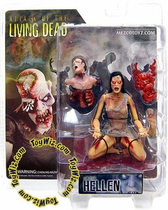 Attack of the Living Dead (Afterlife) Mezco Toyz Zombie Action Figure Hellen (Light Skin)