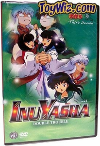 InuYasha DVD Volume 21 Double Trouble BLOWOUT SALE!