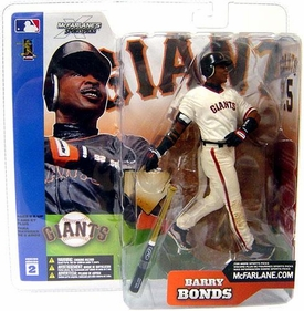 McFarlane Toys MLB Sports Picks Series 2 Action Figure Barry Bonds (San Francisco Giants) White Jersey Variant