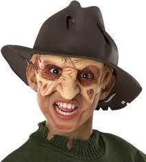 Nightmare on Elm Street Childs Costume #49045 Freddy Fedora