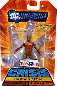 DC Universe Infinite Heroes Exclusive Crisis Action Figure #57 Captain Atom