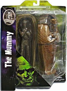 Universal Monsters Select Action Figure The Mummy with Casket