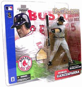 McFarlane Toys MLB Sports Picks Series 2 Action Figure Nomar Garciaparra (Boston Red Sox) Gray Jersey Variant