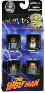 Universal Monsters Minimates 4-Pack Wolfman