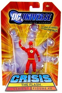 DC Universe Infinite Heroes Exclusive Crisis on Infinite Earths Action Figure #48 Flash
