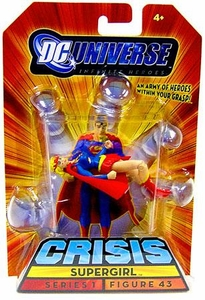DC Universe Infinite Heroes Exclusive Crisis on Infinite Earths Action Figure #43 Dying Supergirl [Battle Damaged]