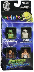 Universal Monsters Minimates 4-Pack Creature From the Black Lagoon