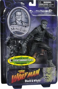 Universal Monsters Select Exclusive Action Figure Wolfman [Black & White Version]