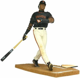 McFarlane Toys MLB Sports Picks Series 2 Action Figure Barry Bonds (San Francisco Giants) Black Jersey