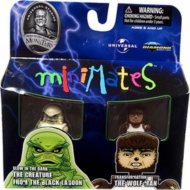 Universal Monsters Minimates The Creature & The Wolfman
